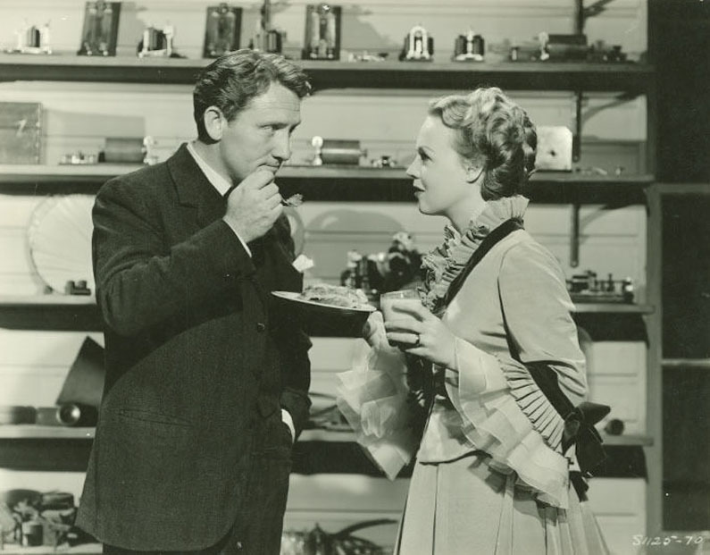 Movie still from Edison the Man 1940